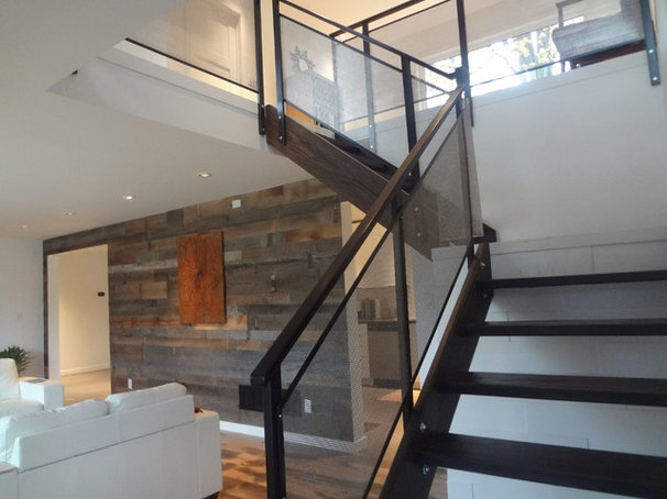 Modern Staircase by Level Design Build