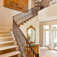 Traditional Staircase by Theo and Isabella Design Group