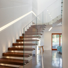 Contemporary Staircase by Bijl Architecture