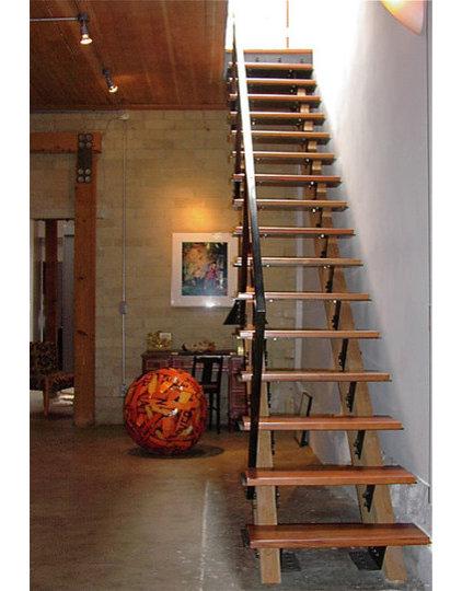 Contemporary Staircase by Zack de Vito Architecture + Construction