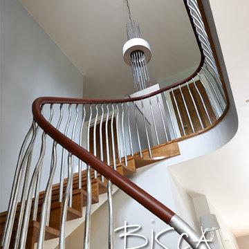 Natural Oak Staircase