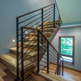 Стильный дизайн: лестница в современном стиле - последний тренд