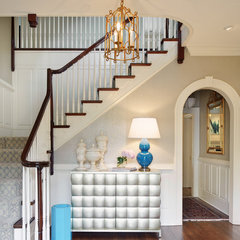 traditional staircase by Visible Proof