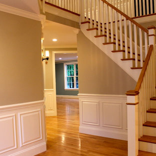 Staircase - traditional staircase idea in Boston
