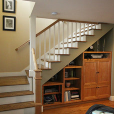 Craftsman Staircase by Nunley Custom Homes