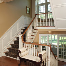 Traditional Staircase by DRF DESIGN
