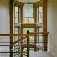 Transitional Staircase by RR Builders, LLC
