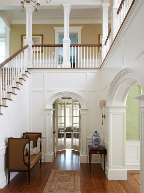 Foyer Architecture Questions : Archway trim houzz