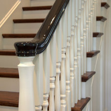 Traditional Staircase by Hoebeke Builders, Inc. / The BuildCHX App