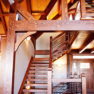 New Custom Timber Frame and SIPs Home in Tennessee