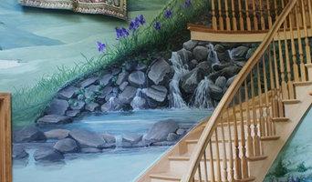 New England  Landscape foyer