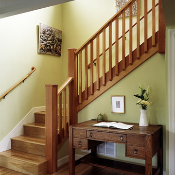 New front staircase
