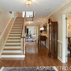 Traditional Staircase by Aspire Metro magazine