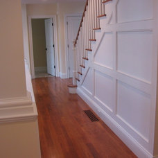 Traditional Staircase by DeSimone Building Company