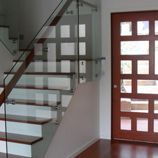 Contemporary Staircase by Neo Building Design