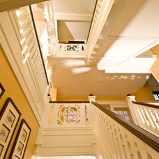 Traditional Staircase by Kemper Associates Architects, LLC