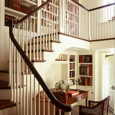 Traditional Staircase by Peter Zimmerman Architects