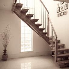 Contemporary Staircase New Malden - Surrey