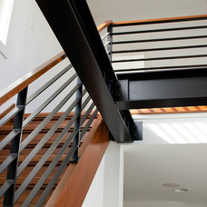 Contemporary Staircase by Richard Bubnowski Design LLC