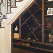 Traditional Staircase by Plattner Custom Builders, LLC