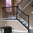 Designer/ Architectural Gallery - Traditional - Staircase ...