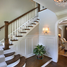Traditional Staircase by Replacement Housing Services Consortium