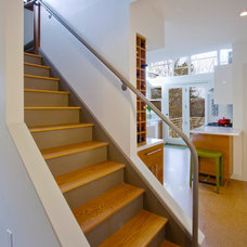 Contemporary Staircase by RoehrSchmitt Architecture
