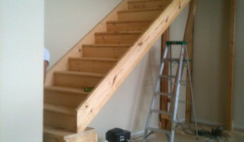 New stairs to loft area