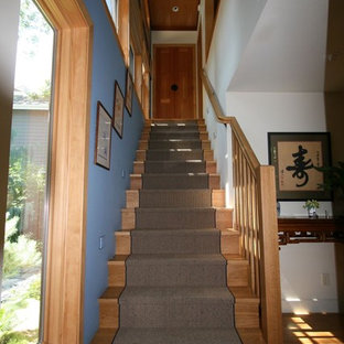 new stairs to second floor