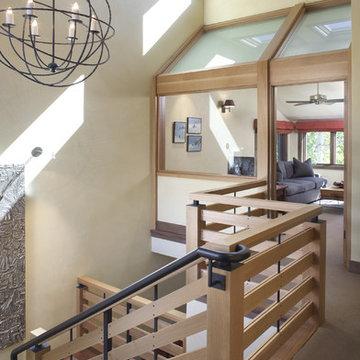New Stairway and Railing