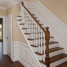 Traditional Staircase by Danniels-French Design
