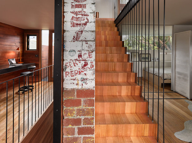 Industrial Staircase by Core Collective Architects