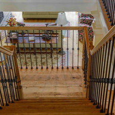 Traditional Staircase by The Woods Company