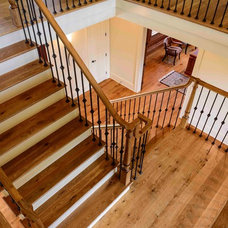 Traditional Staircase by K.D. Woods Company