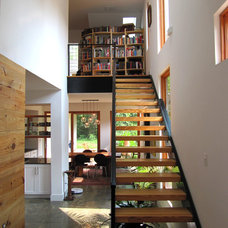 Industrial Staircase by Bork Design, Inc.