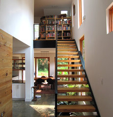 modern staircase by Bork Architectural Design, Inc.