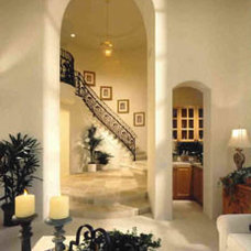 Mediterranean Staircase by New Design Studios