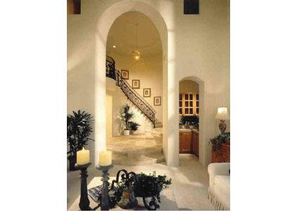 Mediterranean Staircase by New Design Studios