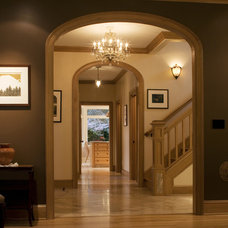 Traditional Staircase by Olson & Jones