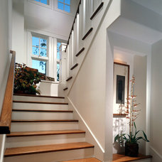 Traditional Staircase by Sennikoff Architects