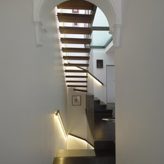 contemporary staircase by Sam Crawford Crawford Architects