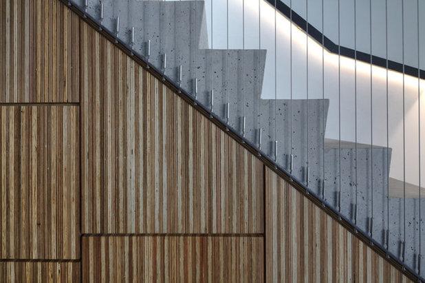 コンテンポラリー 階段 by Sam Crawford Architects