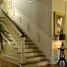 Traditional Staircase by Christopher A Rose AIA, ASID