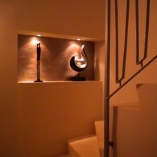 Eclectic Staircase by ARTISSIMO - Idit Deutsch