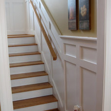 Traditional Staircase by JDM Construction