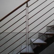 Modern Staircase by Patrick Perez Architect