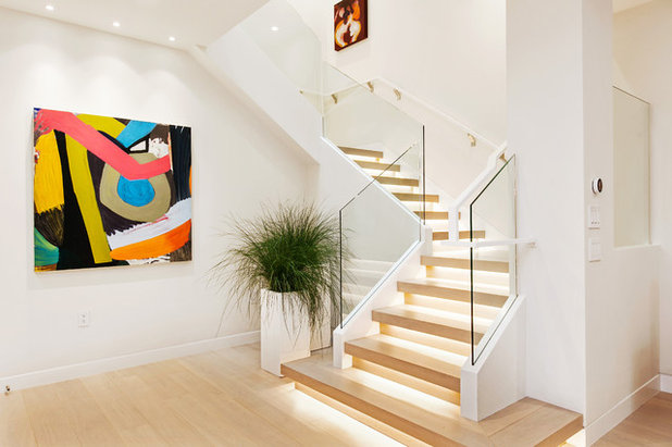 Contemporain Escalier by EAG Studio