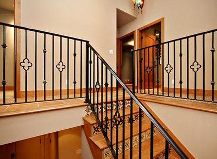 Mediterranean Staircase by CMD Architecture