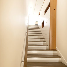 Modern Staircase by At-Six Architecture