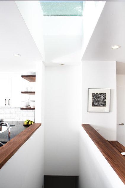 Midcentury Staircase by Regan Baker Design
